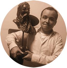 Carlos Yesid Guechá Rodríguez, pintor y dibujante boyacense
