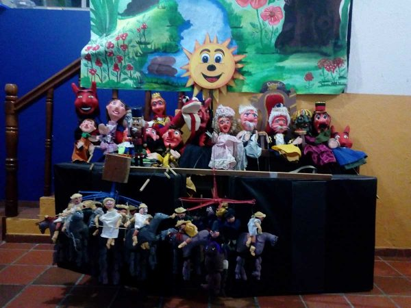 Teatro de títeres El Carriel. Tunja, Boyacá