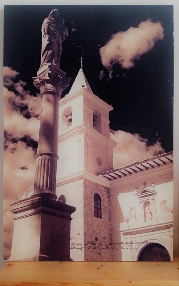 "Obra fotográfica ""La Virgen de las Carmelitas de Villa de Leyva"" Autor: Iván Jiménez Numpaque. Tunja, Boyacá."