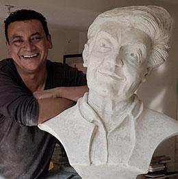 Carlos Avendaño, artista plástico. Tunja, Boyacá. MarketArte